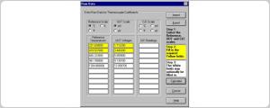9933 TableWare v3 - Temperature Calibration Software